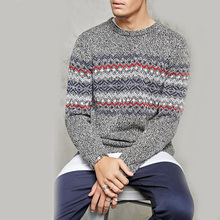 OEM factory price knitted xmas pullover sweaters, woolen sweater for men