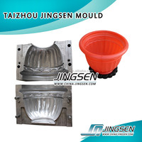 Taizhou own professional produce different kinds of plastic products hot sale plastic flower pot mould,flower pot molds