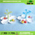 Home Tableware Creative Design Plastic DIY Fruit Dessert Compote Vase With Cuckoo Toothtick
