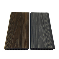 Hot sale!! 2018 new design Fade Resistant anti slip WPC floor/ wpc coextrusion wpc decking