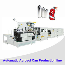 Automatic tin can welder Round Aerosol Tinplate Can Making Machinery