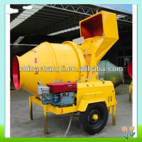 JZR350 gasoline portable concrete mixer