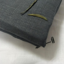 alibaba china woven yarn dyed organic wide width fabric linen