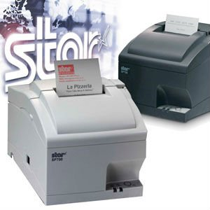Star <strong>printer</strong> Receipt <strong>Printer</strong> Star SP700 Series Advanced High Speed Clamshel POS <strong>Printer</strong>