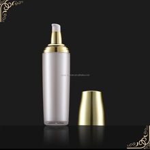 New bamboo body lotion bottles with pump sprayer airless bottle