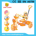 CHEAP BABY TRICYCLE AND HOT SELL CHILDREN TRICYCLE 2017 COW HEAD CHILDREN TRICYCLE WITH MUSIC AND LIGHT