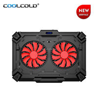 Computer laptops cooling pad gaming style table PC cooling pad notebook cooling fan