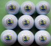 Custom white range golf balls with logo printing