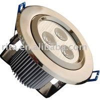 3*1W LED ceiling light, open hold:80mm
