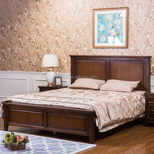 F50848A-1american bedroom furniture pictures of luxury wood double bed designs