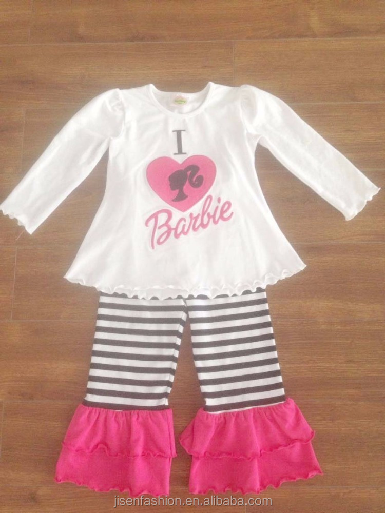 boutique cotton baby girl Valentine's Day outfits
