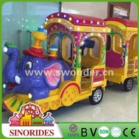 Amusement Road Train for Indoor and Outdoor Playground's Tourist