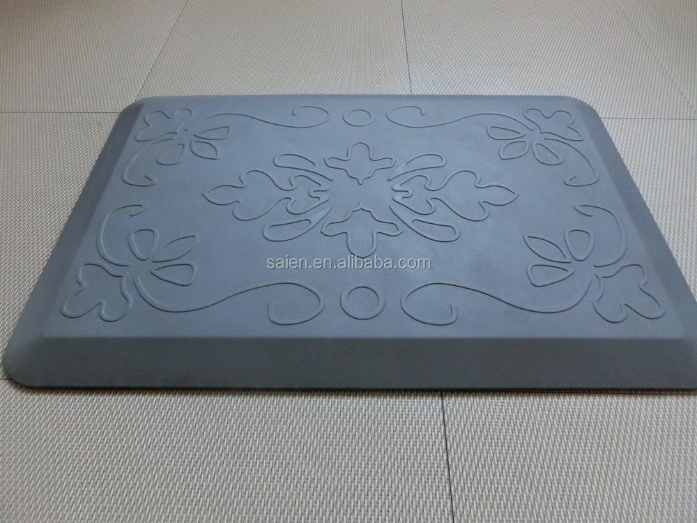 Desk standing working comfortable pad anti slip memory foam floor carpet