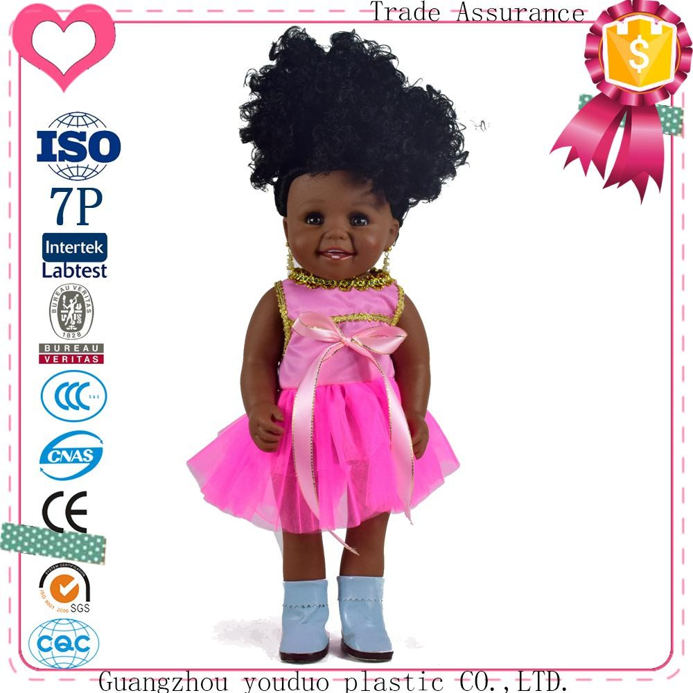 Best sale 40cm 16inch doll black doll China