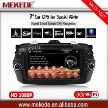 New arrival, car dvd gps system for Suzuki Alivio with TV Ipod FM/AM function