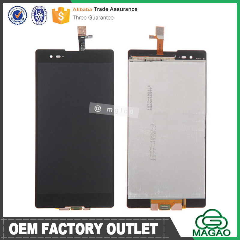Wholesale price OEM/ODM for sony xperia t2 ultra dual sim d5322 lcd touch screen replacement