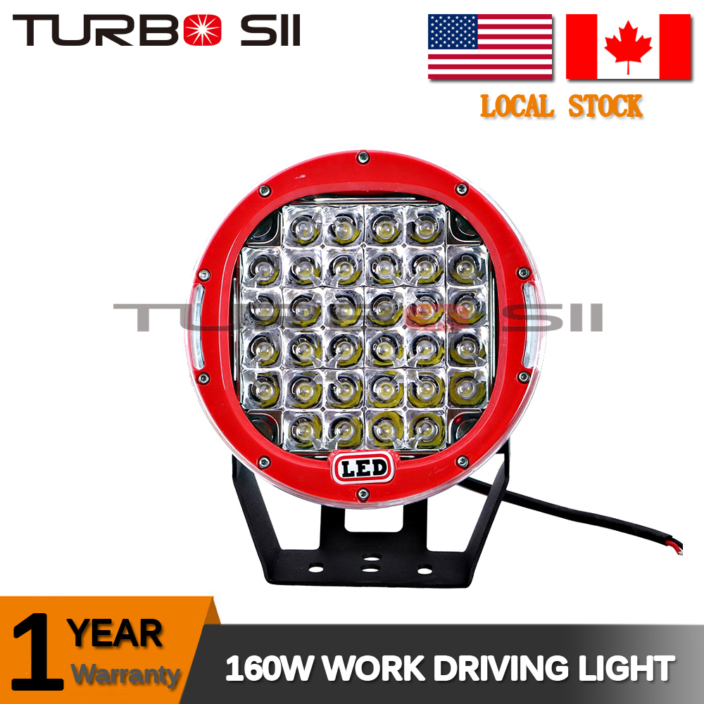 Local Delivery ! Wholesale high power 160W/96W Off road led work lights, 4x4 accessories 160w led truck light