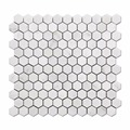 Hot Sale Hexagon Carrara White Marble Mosaic For Wall And Flooring