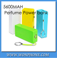 5600mAh perfume mini Power Bank universal USB External Backup Battery for Phone 4s 5 5c power for I9500 s3 note2