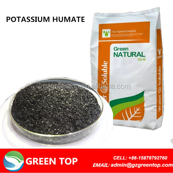 Agrochemicals Fertilizers 65-70% Potassium Humate Humic Acid From Leonardite