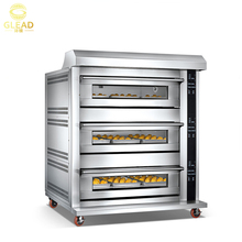 GLEAD Baking equipment commercial used bakery bread oven