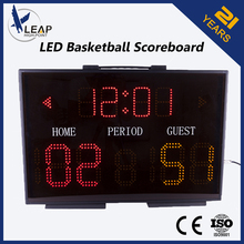 Alibaba China Wall Mounted Led Display Portable Electronic Basketball Scoreboard
