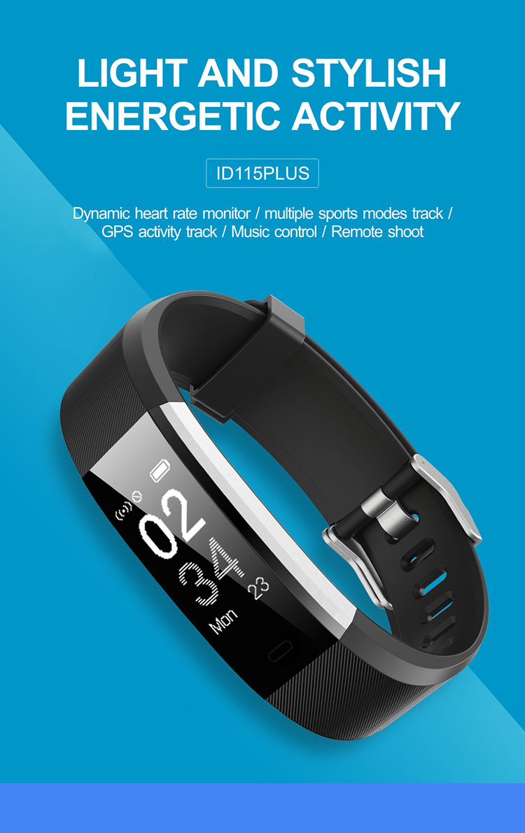 id115 plus hr smart bracelet heart rate monitor id115plus wristband health fitness tracker for android ios _01.jpg