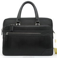 Men handbag genuine leather laptop briefcase man leather briefcase for lawyers