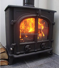 Popular Double Door CE Approved Wood Burning Stove