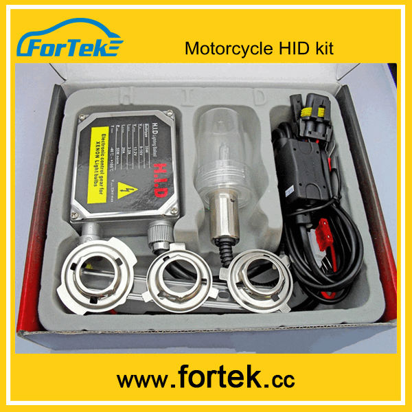 6000K Motorcycle HID Xenon conversion Kit