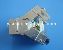A58 Good qualtiy Cat 5e STP rj45 keystone jack with dustproof