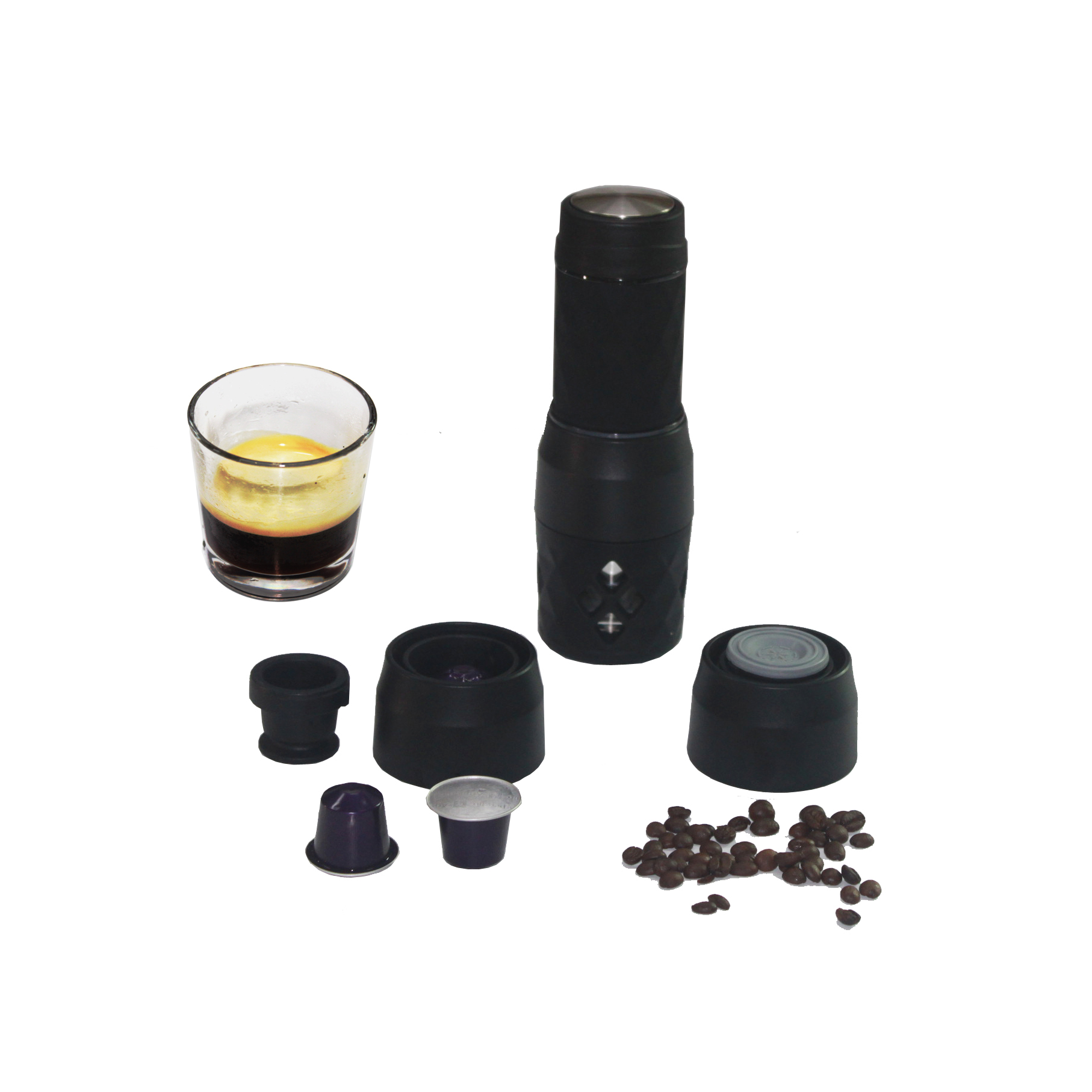 mini nespresso machine compatible with capsule <strong>coffee</strong> and ground <strong>coffee</strong>