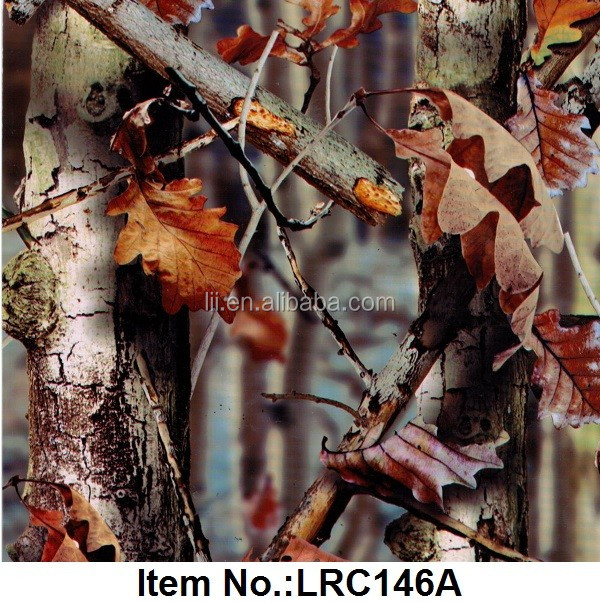 Tree Camo Aquaprint Film/Hydro Dipping Graphics Film/Water Transfer Printing Film No.LRC146A