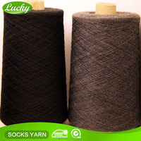Cnlucky Factory recycled NE12s knitting sock yarn production , factory direct production