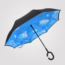 Wholesale cheap parasols umbrellas with c handle