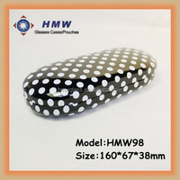 factory reading eyewear case box medium size dots & zebra pattern sepectacle case