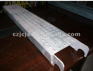 oem perforated steel plan Hot-dip Galvanized Scaffolding Steel Plank With Hook laminated scaffold planks aluminum scaffold plank