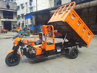 China cheap three wheel motorcycle with tipper for adults