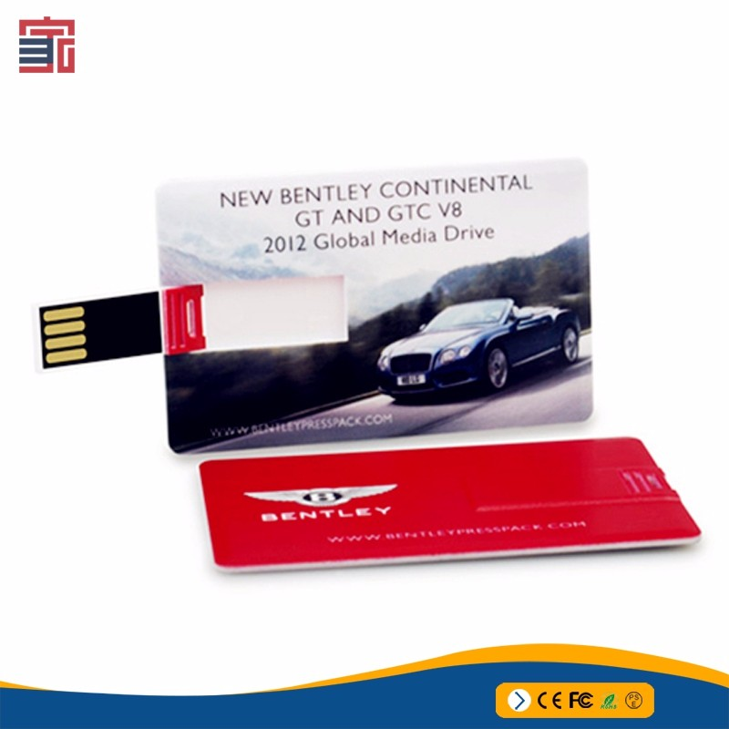 2018 Top Selling Cheapest Colorful Ultra Thin Credit Card 128 Gb Usb Flash Drive 3.0