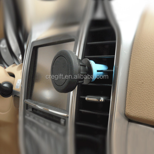 360 degree rotating universal air vent mobile phone holder car funny cell phone holder