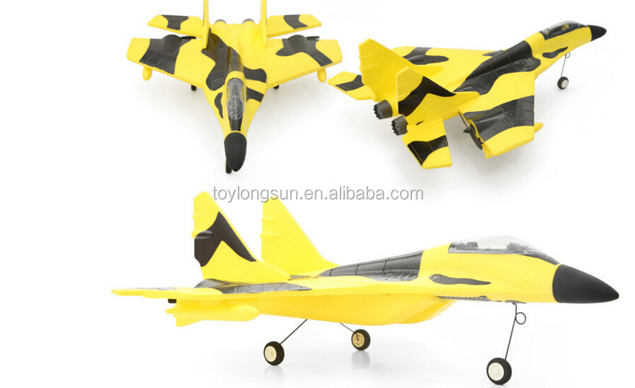 2.4Ghz brushless version RC airplane mig-29 with EPO foam