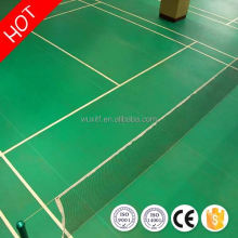 Popular antistatic antiskid pvc badminton sports flooring for indoor