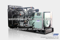 Diesel Generator set with Perkins engine alternator fulter muffler