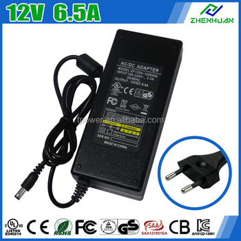 High Demand 12v Dc Power Adapter 6.5a For Hidden Camera