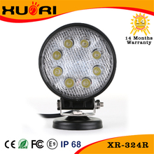 Cheap price 24W worklight flush offroad led 24 volt led work light for car truck ,husky led work light