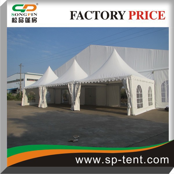 Outdoor Free combination wholesale marquee party wedding tent