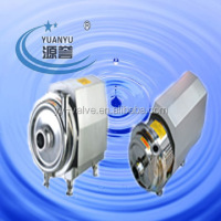 sanitary stainless steel mirror or matt polishing cover centrifugal pump