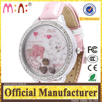 Korea mini brand Manafacturer japan movt quartz wristwatches lady mini hd dvr watch manual