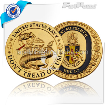 Gold Plated Challenge Coins