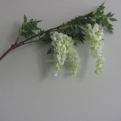 Long String Artificial Silk Wisteria Flower Vine Hanging Fake Garland Wedding Floral Home Deco